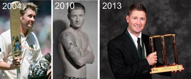 michael clarke-transformation