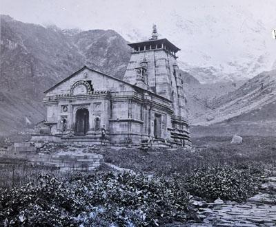 Kedarnath, Garhwal, Griesbach 1882. Geological Survey of India (via Outlook)