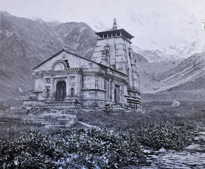Kedarnath, Garhwal, Griesbach 1882. Geological Survey of India (via Outlook)