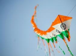 Tricolour kites_Ankush Kochhar